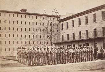Prisoners going to work at Sing Sing Prison. Courtesy of New York Public Library.
